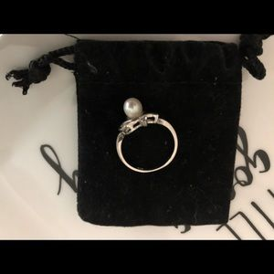 Vantel authentic pearl ring size 7